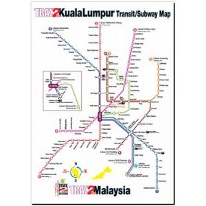 Kuala Lumpur Transit Subway Map