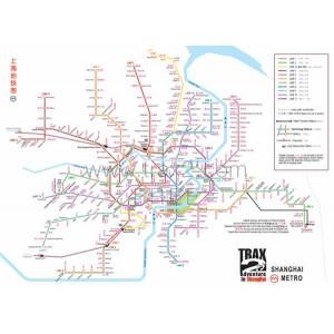 Free SH metro map