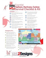 Cyclone Typhoon Hurricane Survival Checklist and Kit