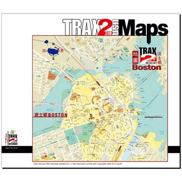 Downtown Boston map pdf