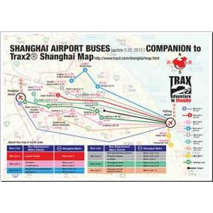 Shanghai airport bus map