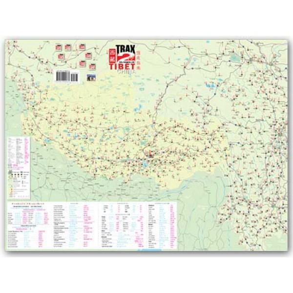 Lhasa China Map.Map Of Tibet Lhasa Tibet China